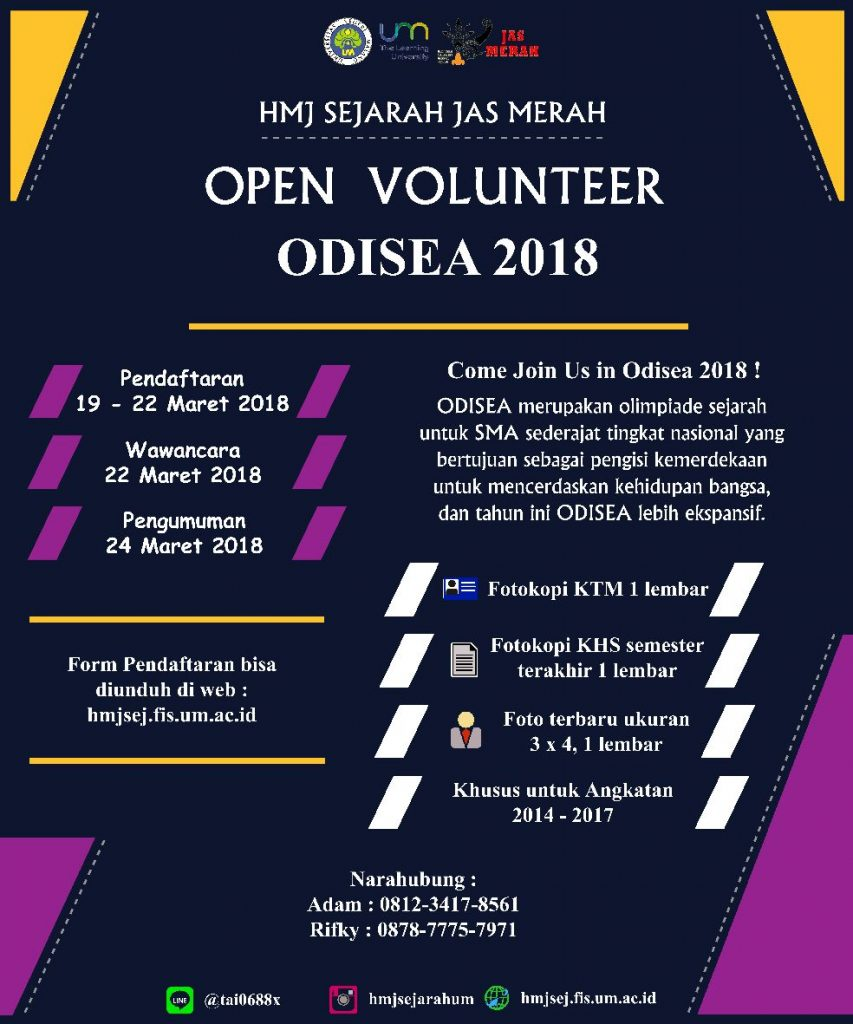 Open Volunteer Odisea